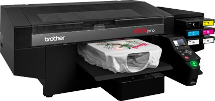 Brother GTX Pro garment printer