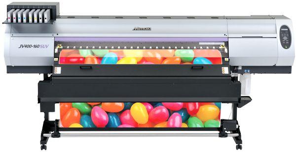 Mimaki JV400 Solvent UV printer