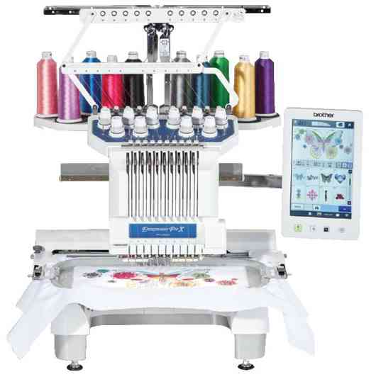 Brother PR1055 embroidery machine