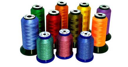 King star polyester embroidery thread
