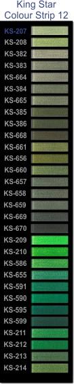King Star colour strip 12