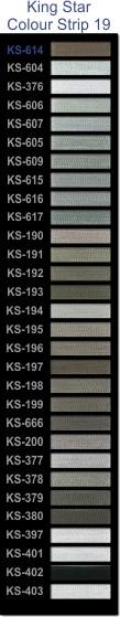 King Star colour strip 19