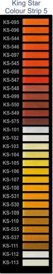 King Star colour strip 5