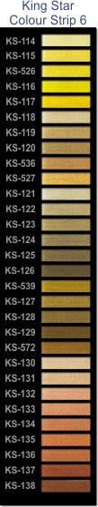 King Star colour strip 6