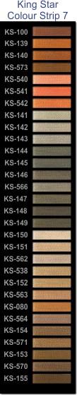 King Star colour strip 7