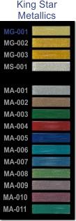 King Star colour strip metallic