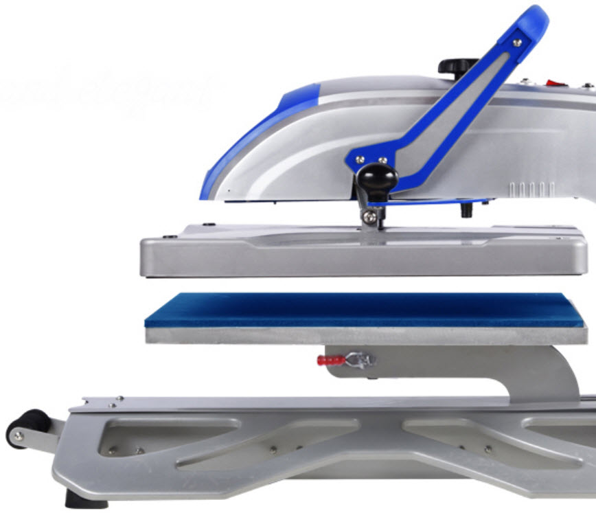 ESD4050-MS heat press side view